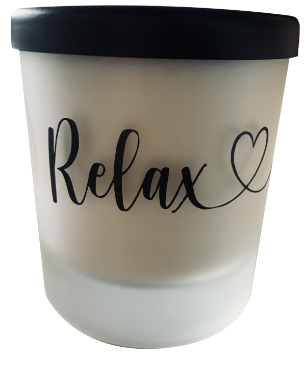 'Relax' Candle